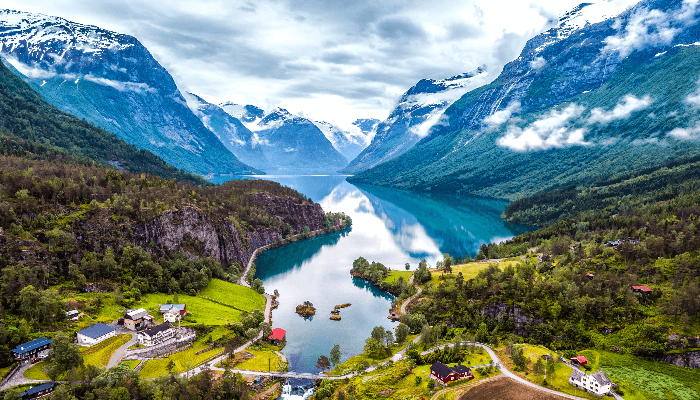 View of Norway for Norway's sovereign wealth fund