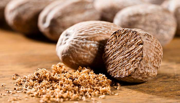 Nutmeg traded by the Dutch East India Company